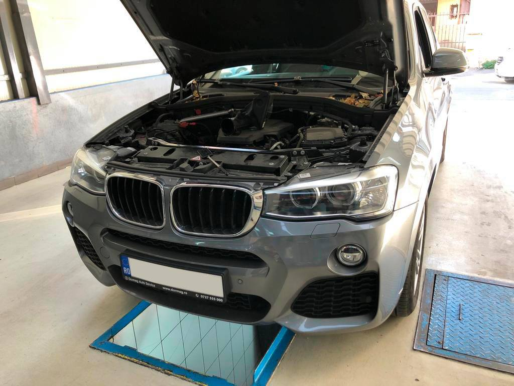 BMW X3 - F25 - remediere probleme turbo